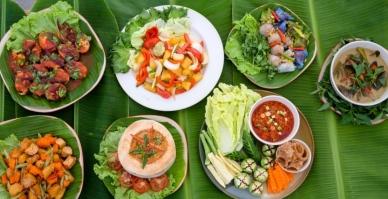 2-b-museflower-retreat-spa-chiang-rai-vegetarian-cuisine-buffet