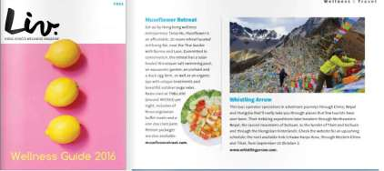 Liv Mag HK wellness guide 2016